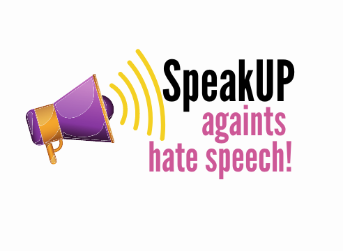 Speak up against hate speech